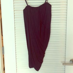 Strapless BCBG maxazaria ruched XS dress